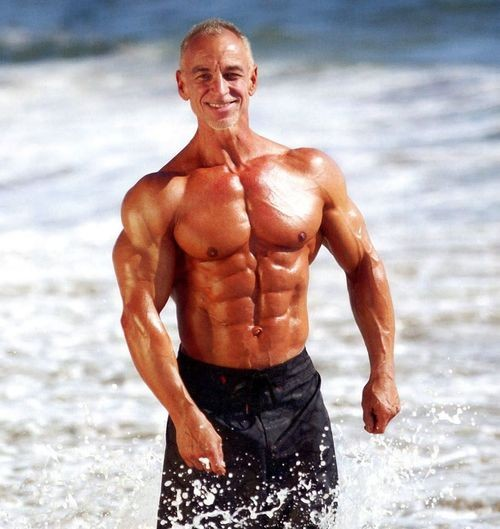 age 53 David Gooding motivating example strength conditioning techniques to improve overall health.