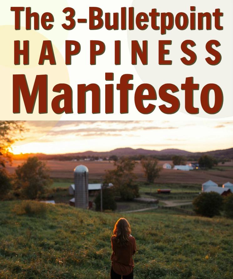 simple manifesto