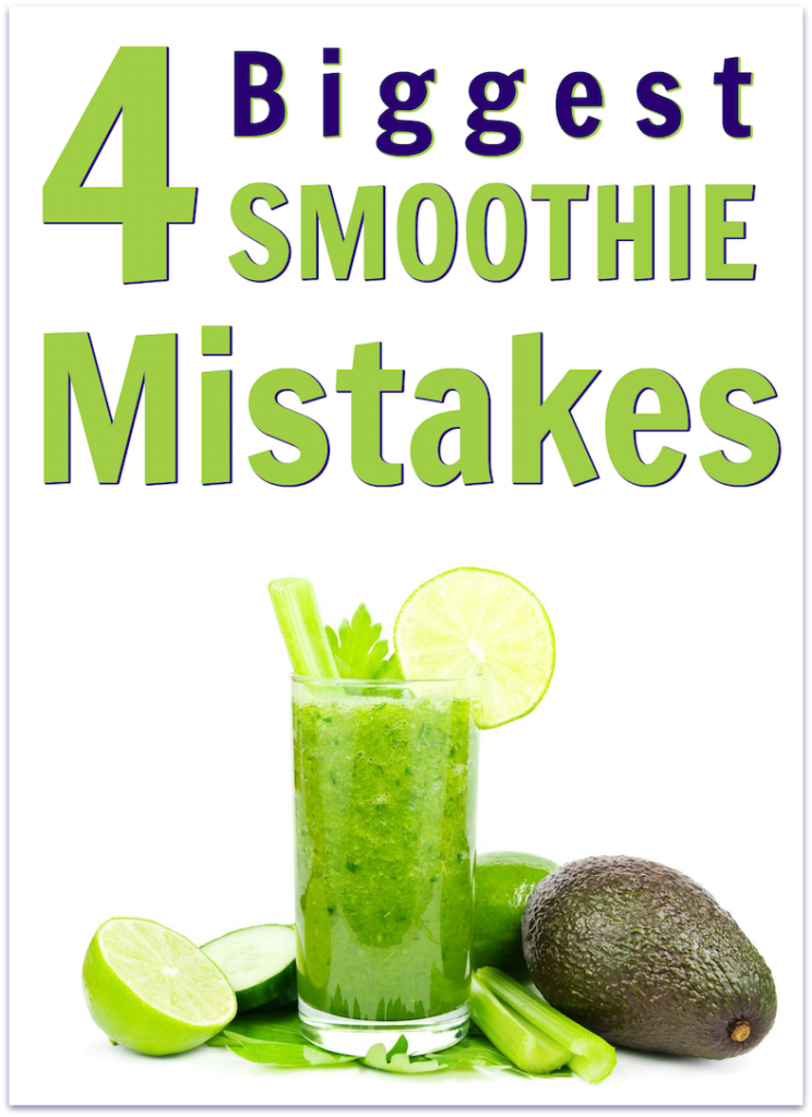 blended smoothie mistakes