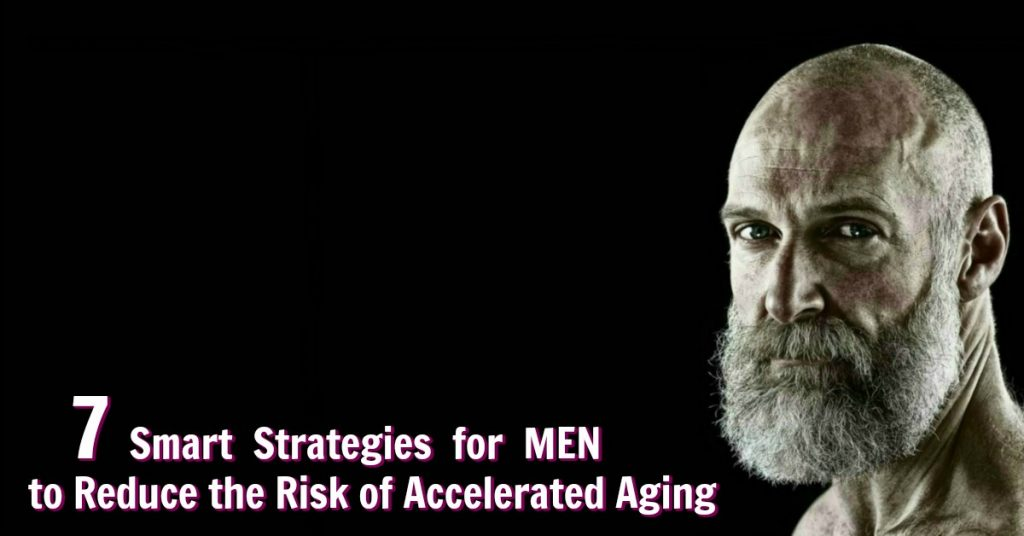 men reduce aging speed