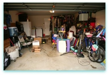Garages are notorious for becoming clutter-filled.