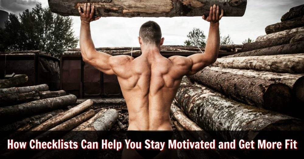 checklists for fitness motivation