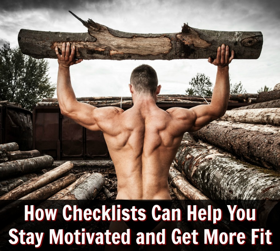 fitness motivation checklists