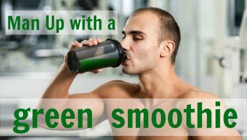 green smoothie man