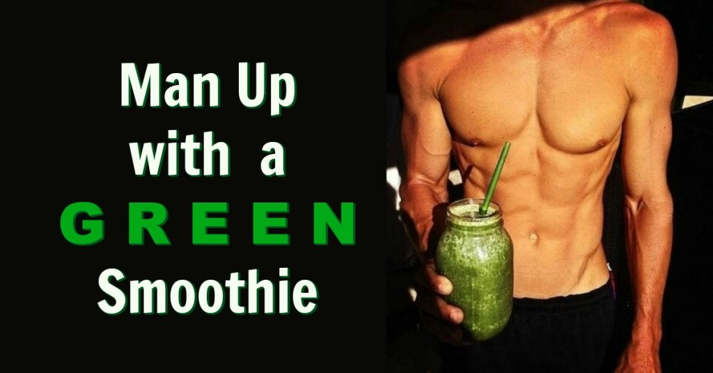 green smoothie healthy men