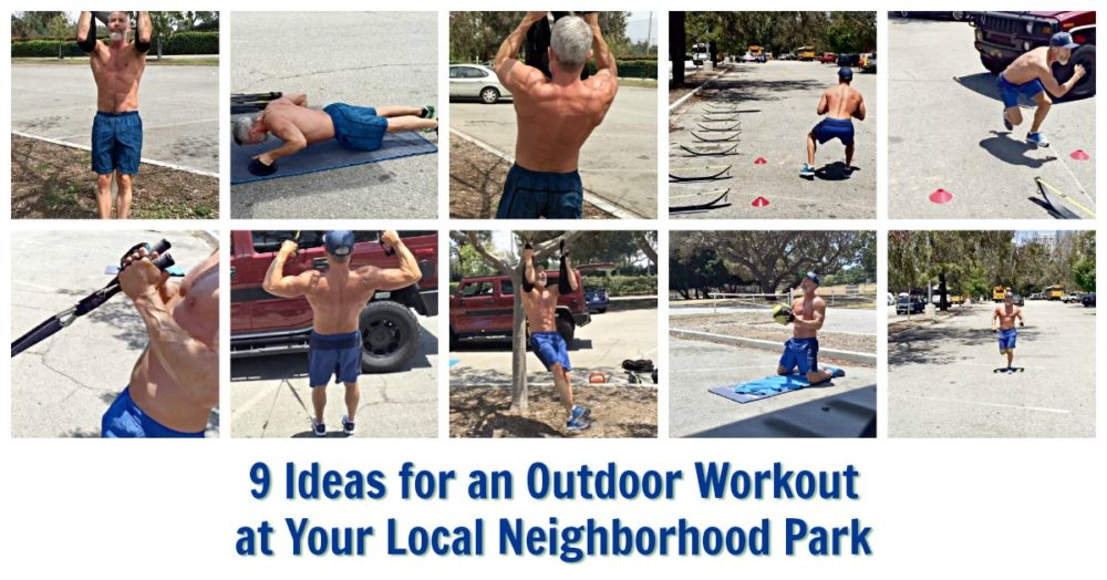 outdoor park hiit workout