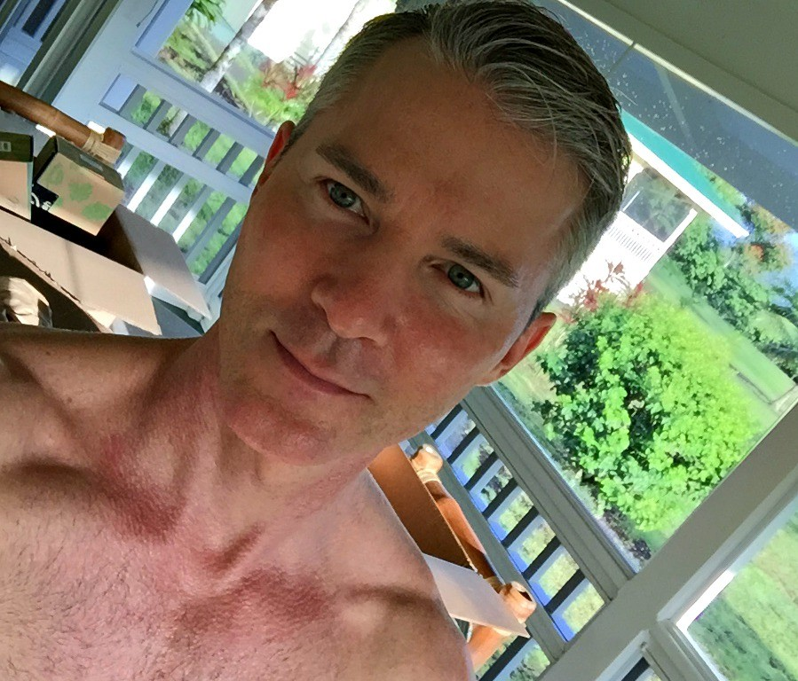 Author Dane Findley 4 weeks into his nutritional experiment, at age 50.