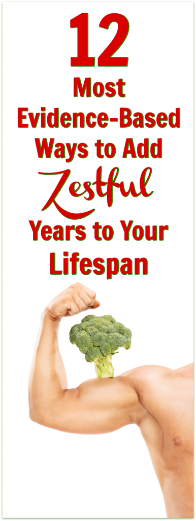 healthy lifespan years evidence