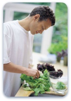 bounce back by increasing raw vegetable intake