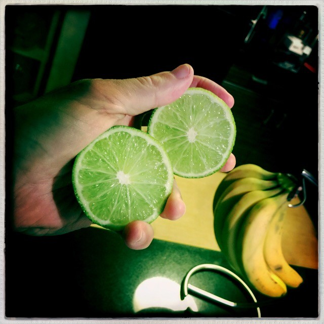 superfood lime smoothie improves health