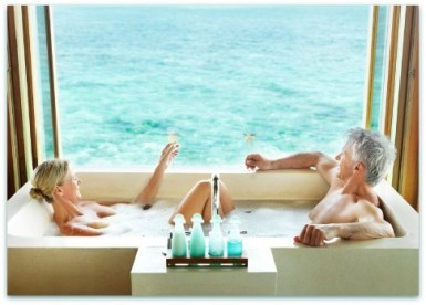 bathing salts benefit skin after age 50