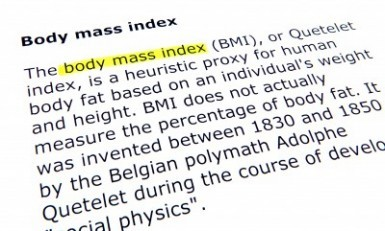 BMI healthy weight
