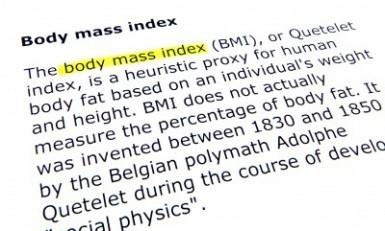 BMI healthy weight