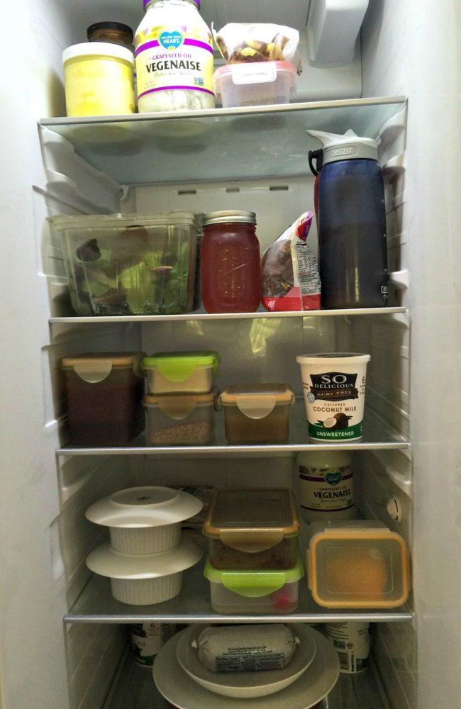 refrigerator healthy food