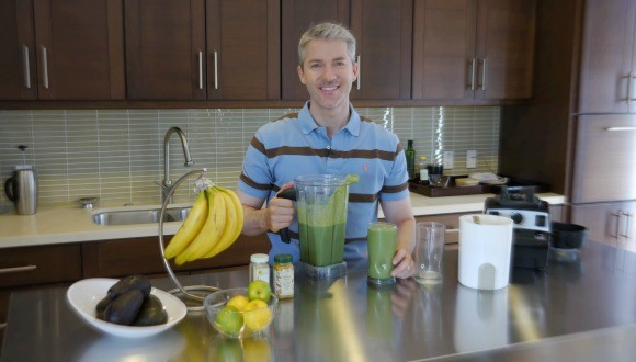 green smoothie enthusiasm