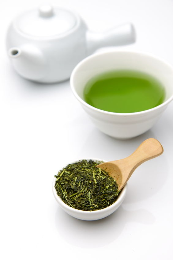 green tea boosts confidence