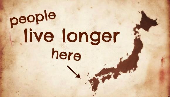 Seaweed live longer Japan