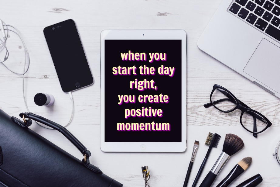 build positive momentum