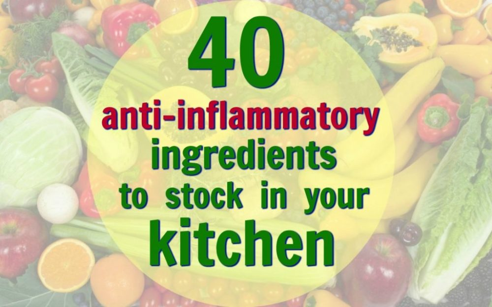 anti-inflammatory diet ingredients