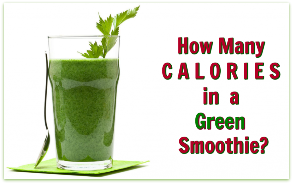 green smoothie calories
