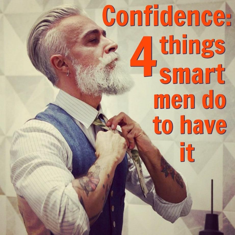 men confidence
