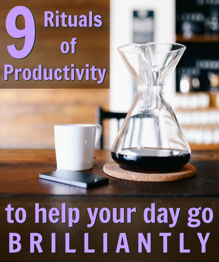 productivity rituals