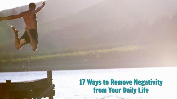 remove negativity