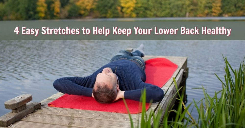 easy lower back stretches