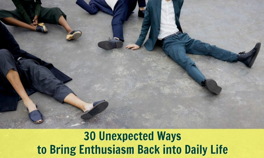 enthusiasm daily joy