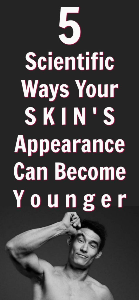 skin appear younger after 50
