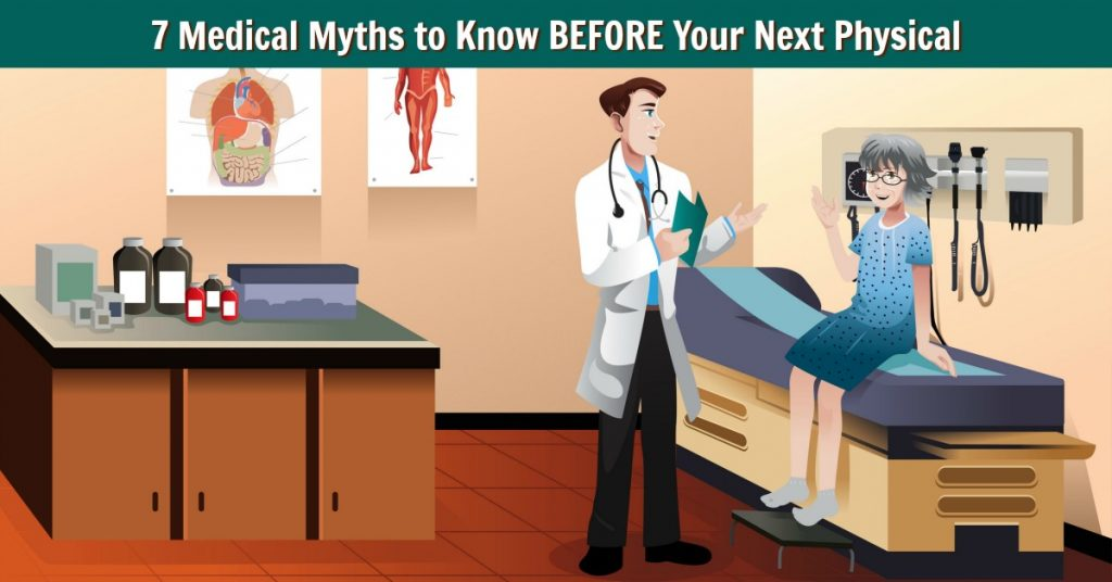 medical myths yearly physical exam