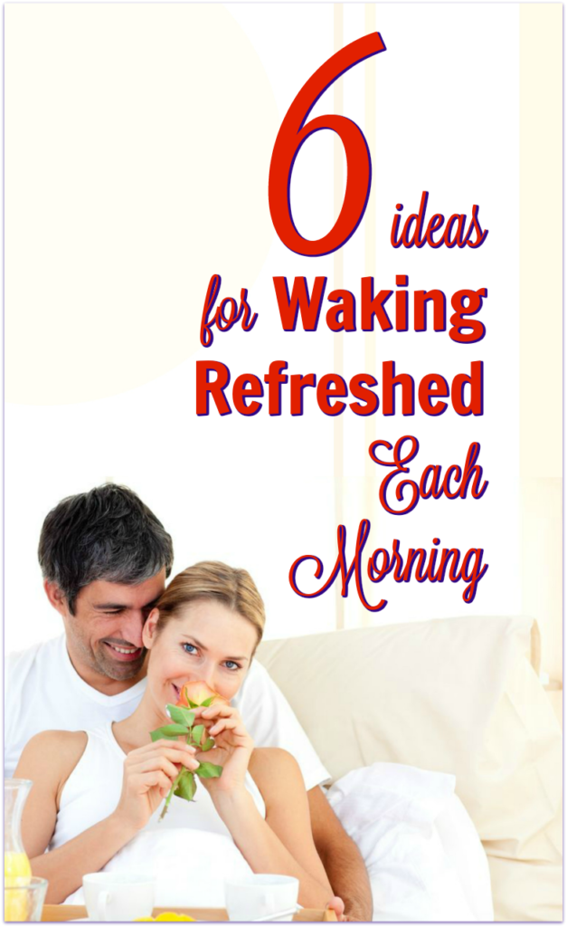 wake refreshed eat before bed