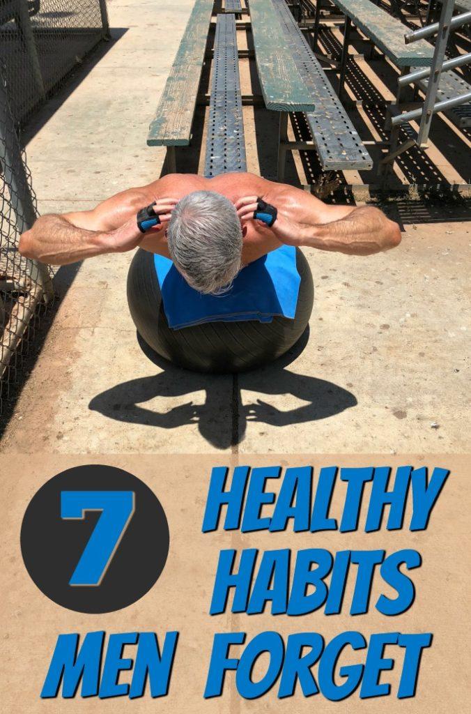 men healthier habits longevity