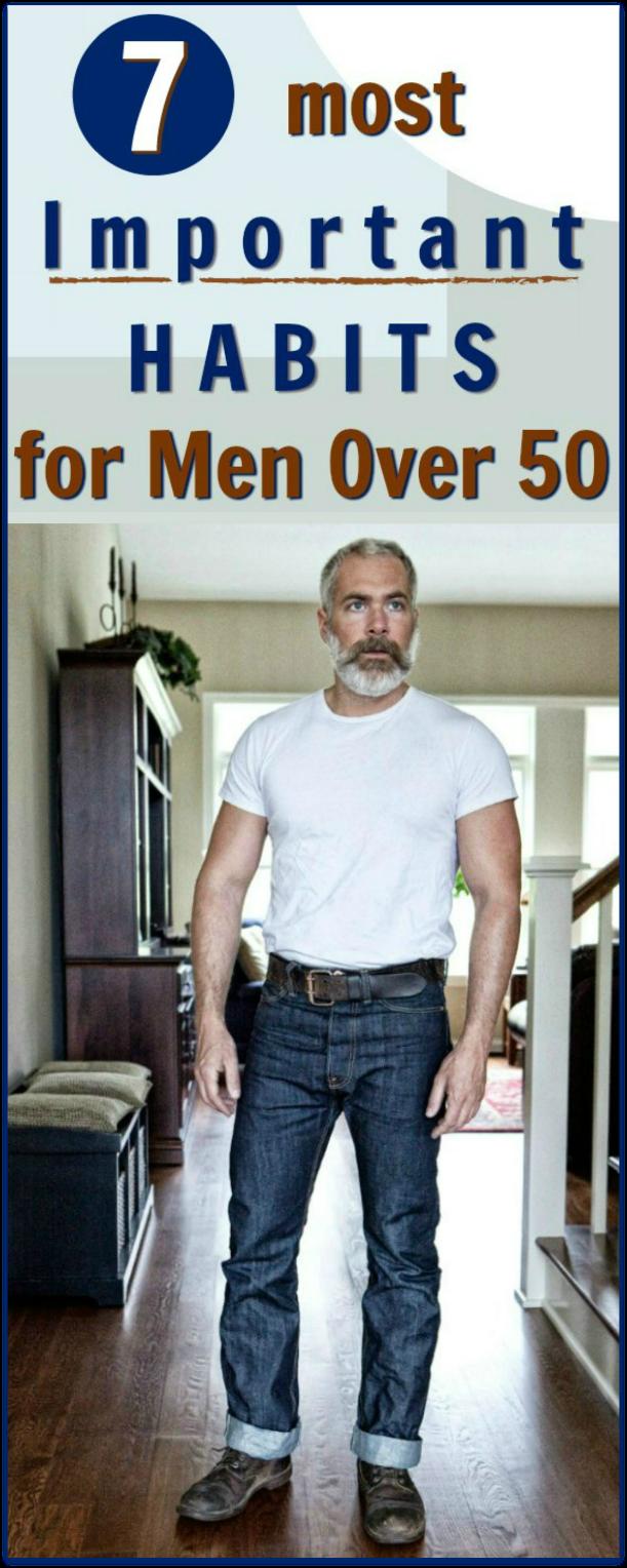 men over 50 health habits