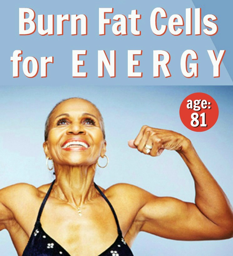 burn fat cells for energy