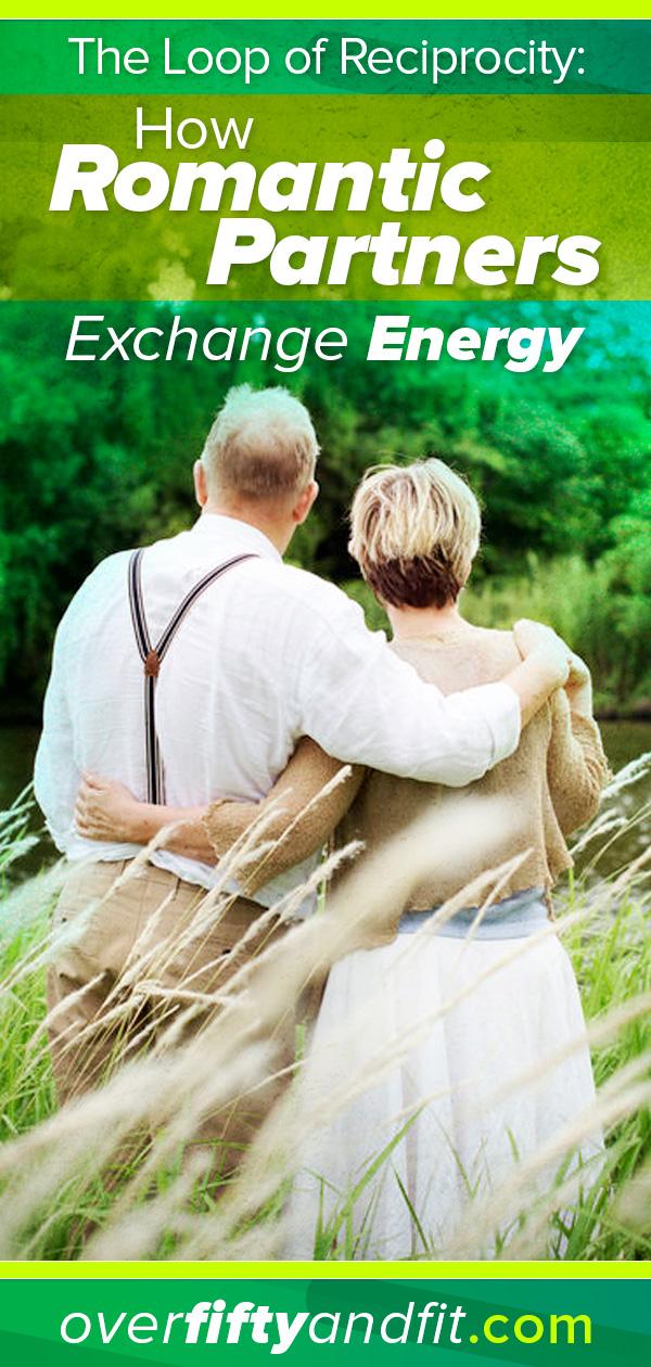 romantic partners exchange energy