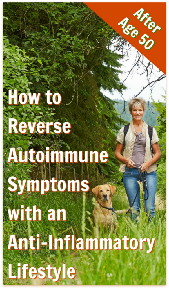 Those diagnosed with autoimmune disease experience unique challenges, particularly after the age of 50. An anti-inflammatory diet is proving helpful to many. Here are ideas for reversing autoimmune symptoms after age 50 with an anti-inflammatory lifestyle – #autoimmune #antiinflammatory #inflammation #over50 #fifty #nutrition #lifestyle #wellness #overfiftyandfit