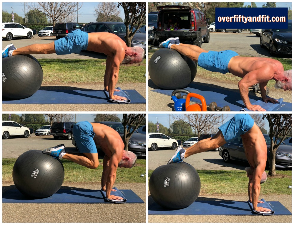 over fifty and fit exercise examples