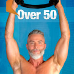 man exercising with pilates resistance ring