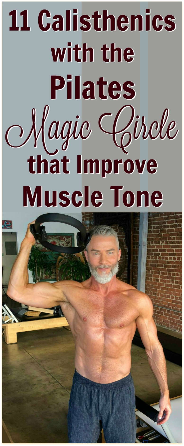 pilates magic circle muscle tone