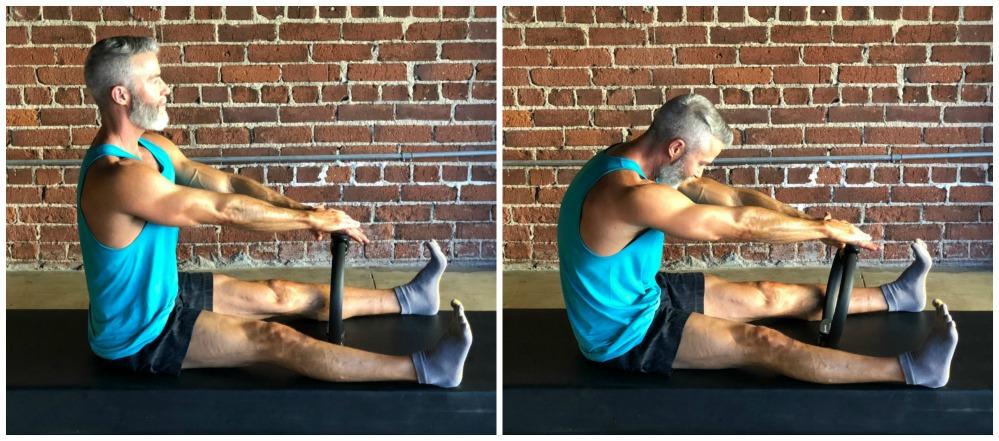 spine stretch forward magic circle