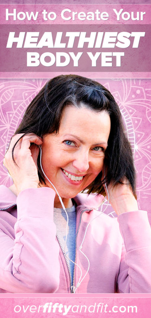 woman putting in ear buds as she prepares for exercise