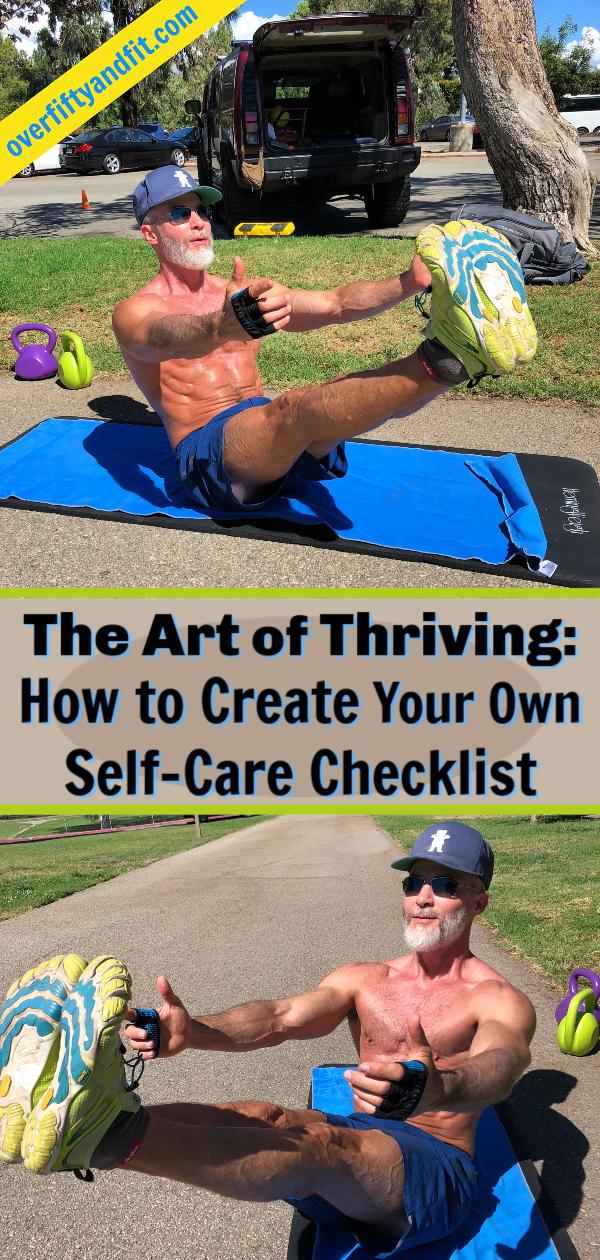 Self Care Checklist Thriving