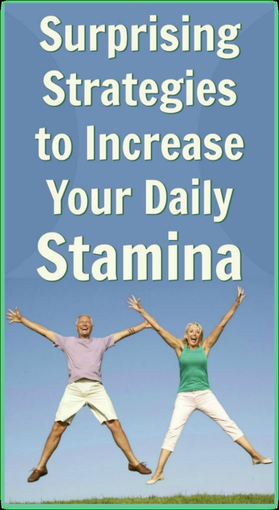 more joy more stamina