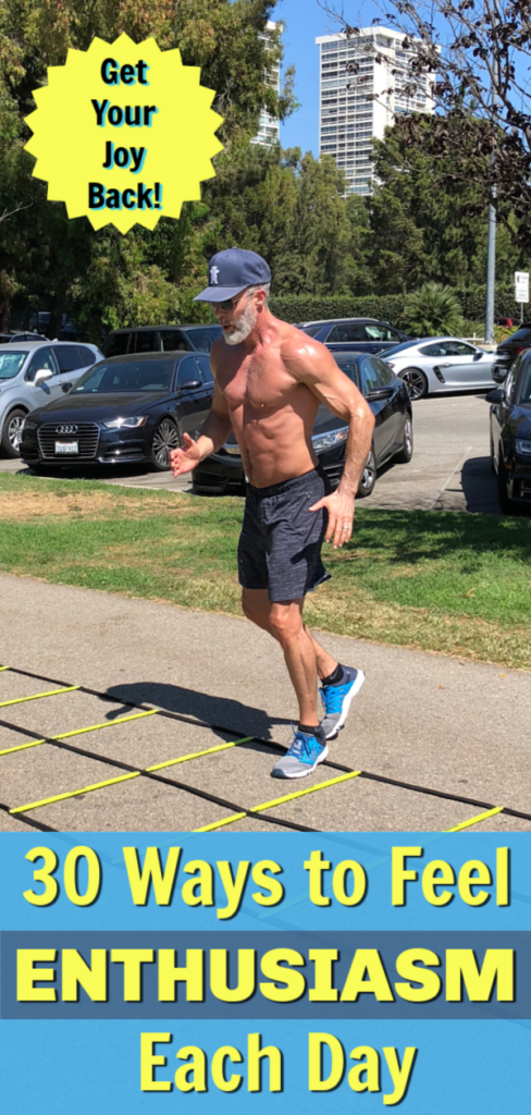 older fit man exercising outdoors