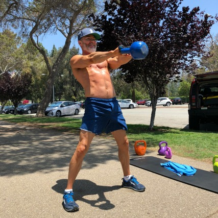 Kettlebell swings after age 50