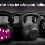 collection of iron kettlebells
