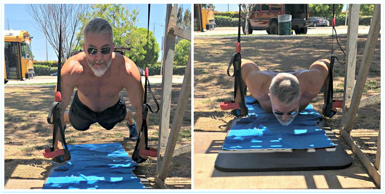 suspension push ups