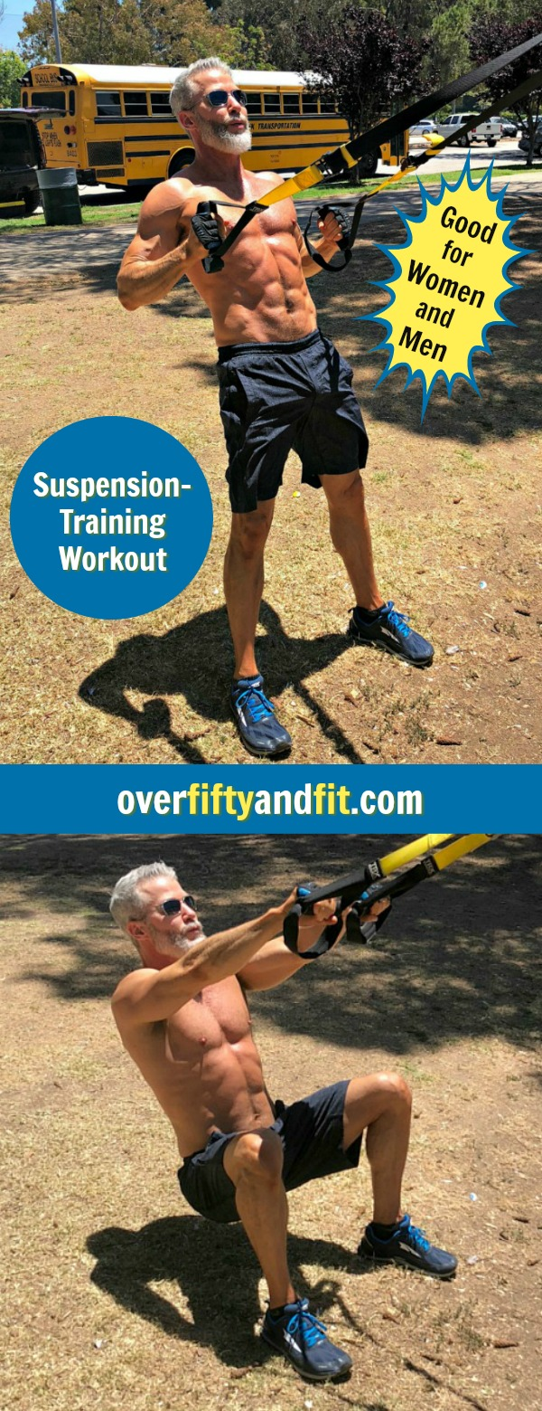 suspension squats trx workout