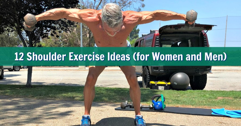 Beginner Shoulder Workout: Your Waist Can Appear Smaller By Sculpting Your Deltoids
